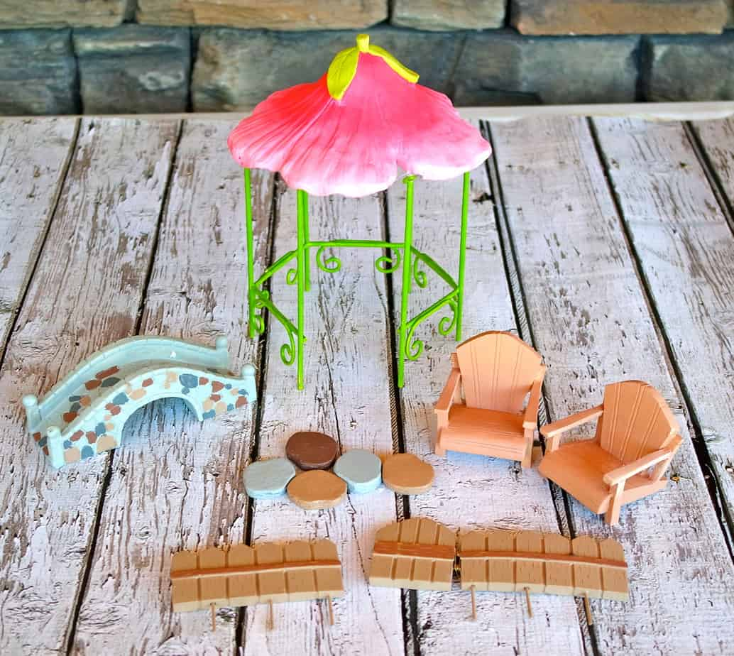 where to find buy a fairy garden set