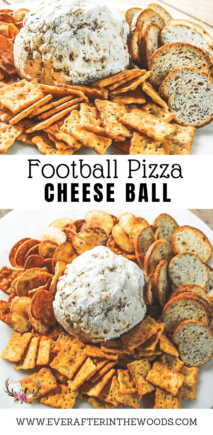 pizza cheese ball football appetizer