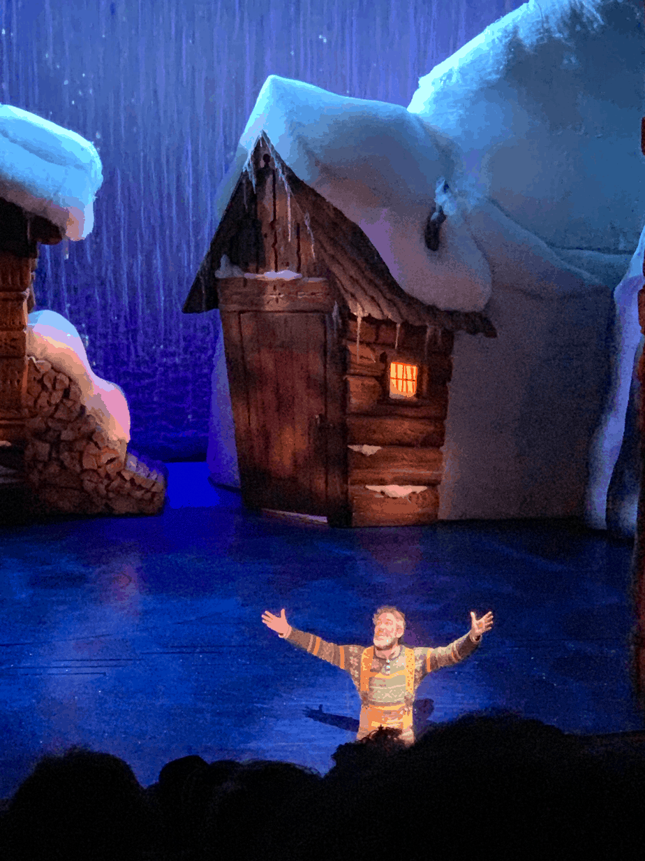 In a word, YES! Frozen, The Musical is appropriate for kids and children ages 5 and older. Enjoy all of your favorite music, songs, characters and more