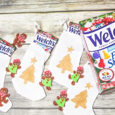 Easy Advent Calendar with Welch's® Christmas Fruit Snacks
