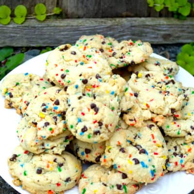 Moist and Chewy Funfetti Cookies