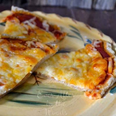 Nutritious Pizza Dough with Gerber Cereal