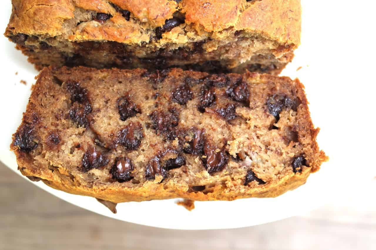how to make a moist banana bread without oil or butter