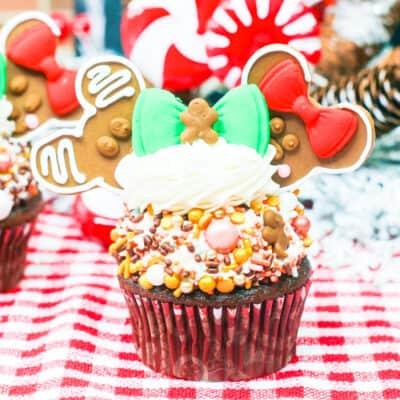 Disney Christmas Cupcakes