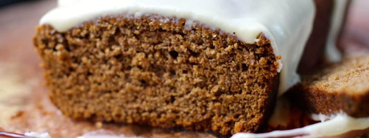 best ever moist gingerbread cake loaf