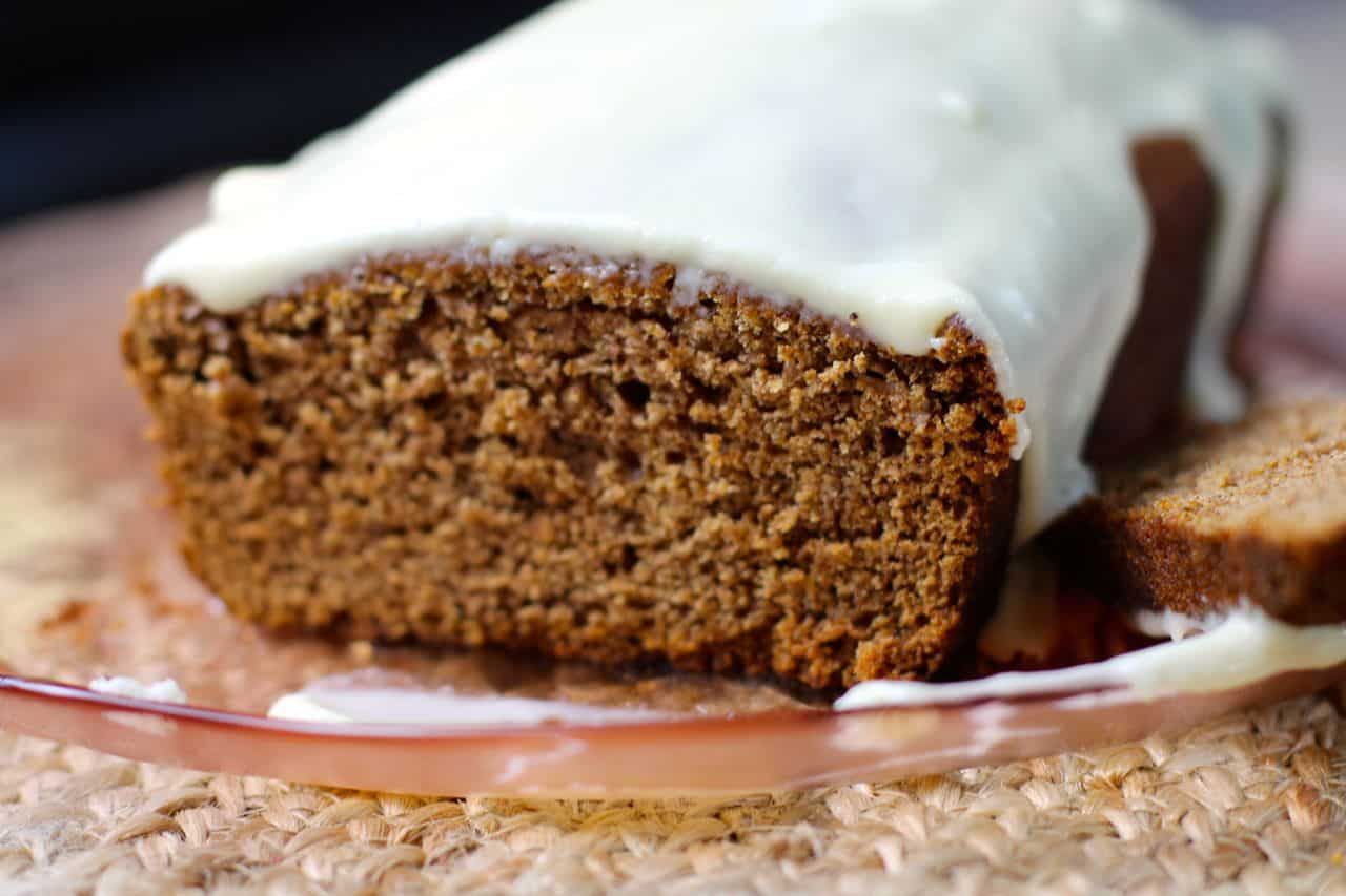 best ever moist gingerbread cake loaf