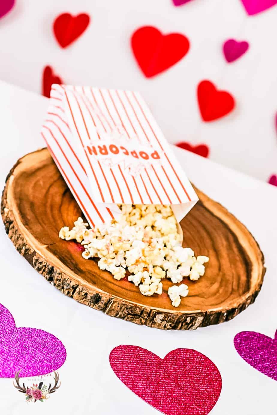 glittery sparkle popcorn