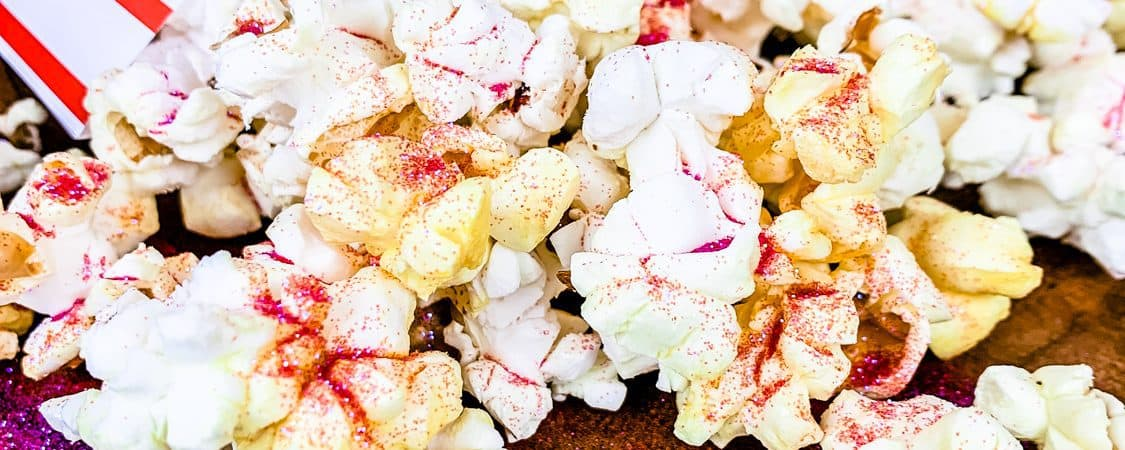 glitter popcorn