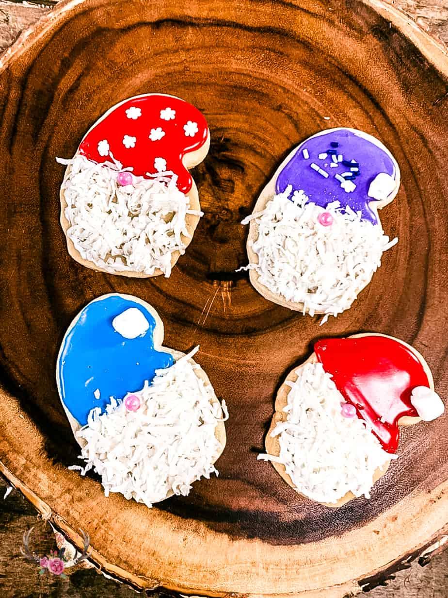 gnome sugar cookies