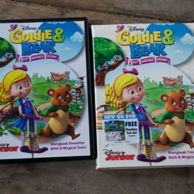 Goldie & Bear: Best Fairytale Friends Now Available on DVD