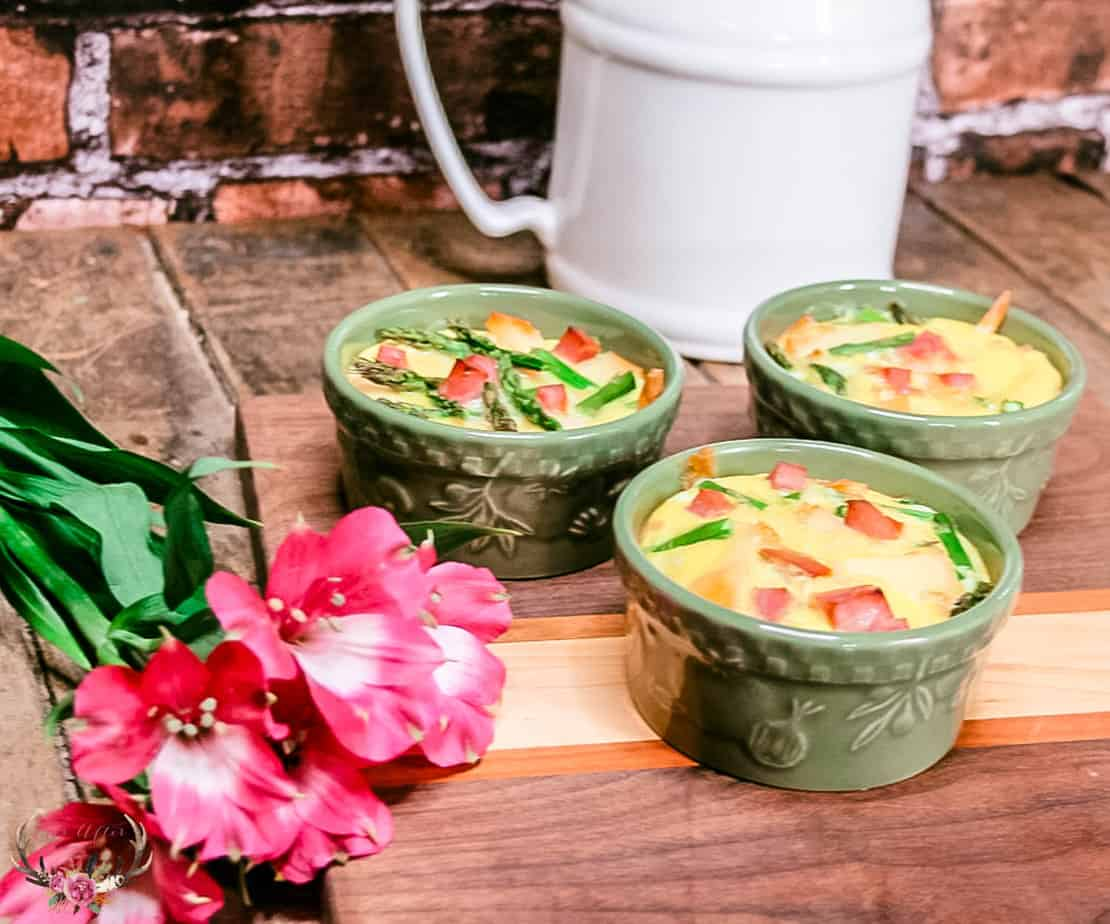healthy quiche