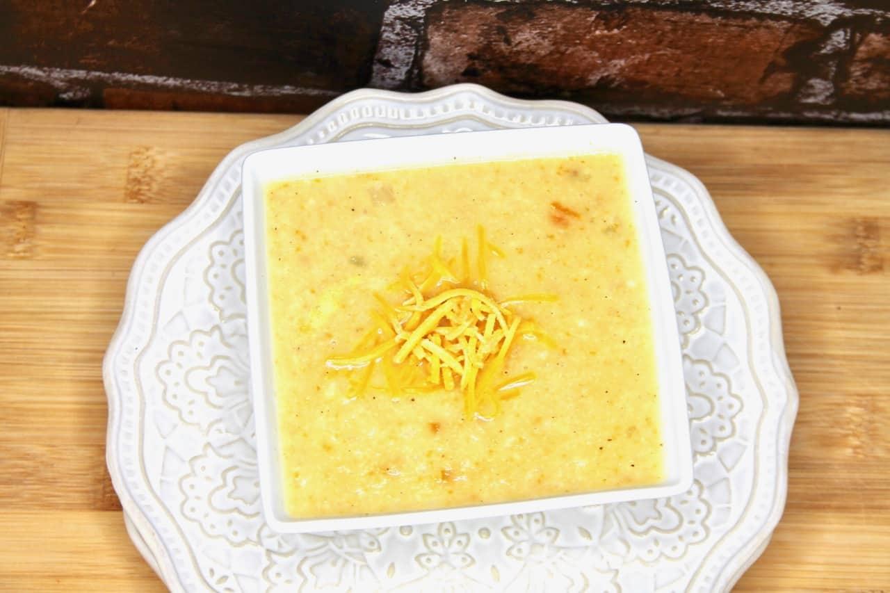 cauliflower soup no cream