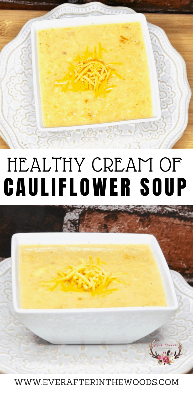 non dairy cream of cauliflower soup