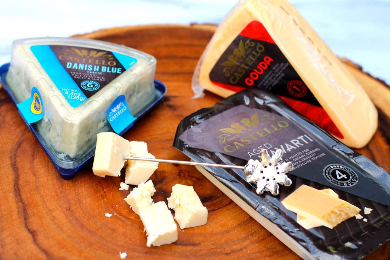 castello havarti gouda blue cheese