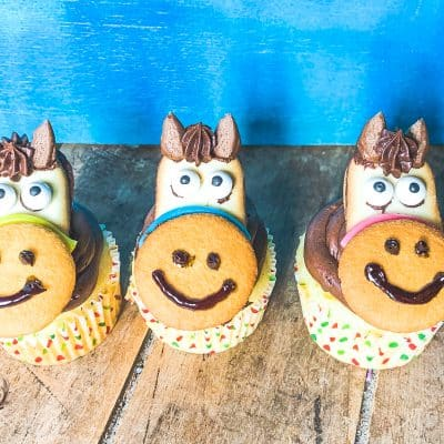 horse cupcake topper for birthdays