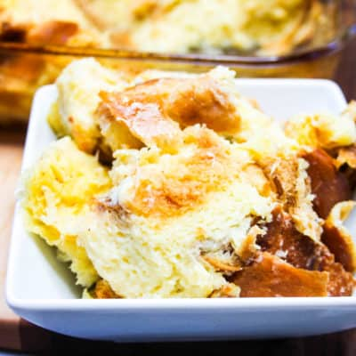easy and delicious bread pudding recipe