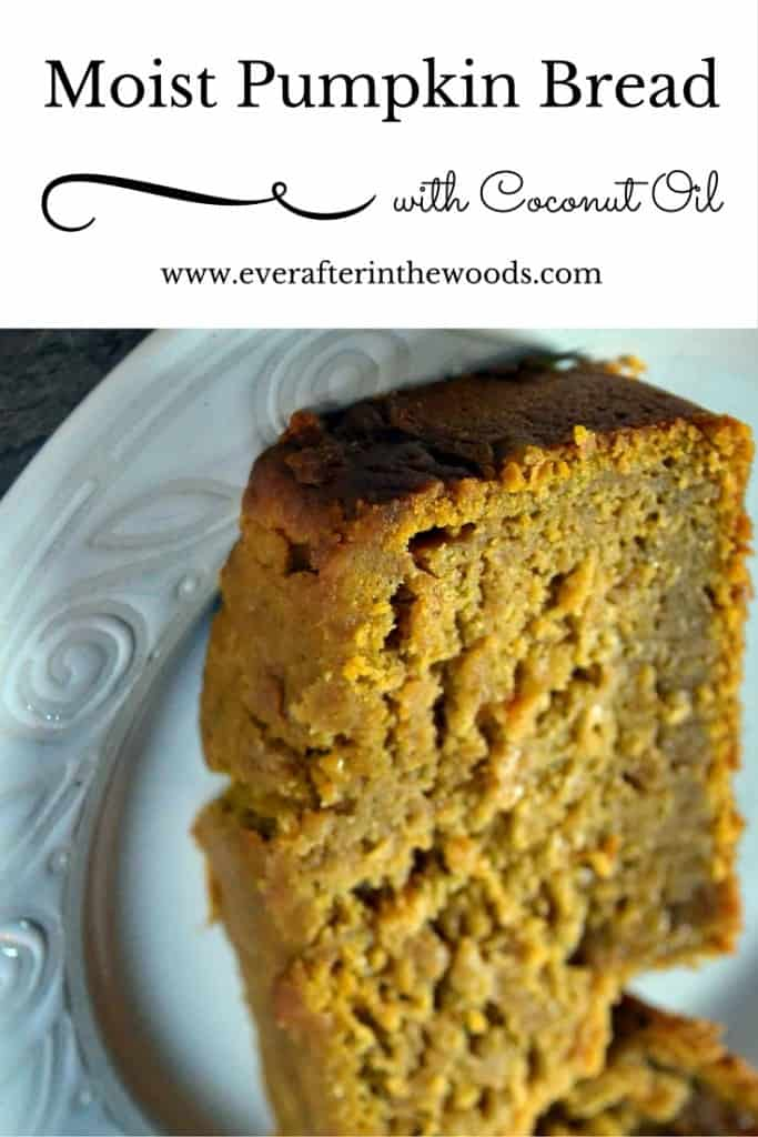 pumpkin bread with coconut oil
