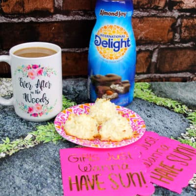 Coconut Macaroons + Coffee = Perfect Morning