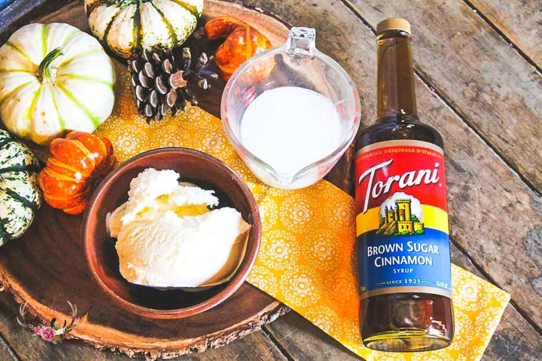 Fall Churro Milkshake Recipe with Torani Syrup