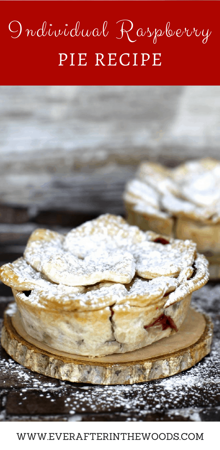 how to make individual raspberry pies