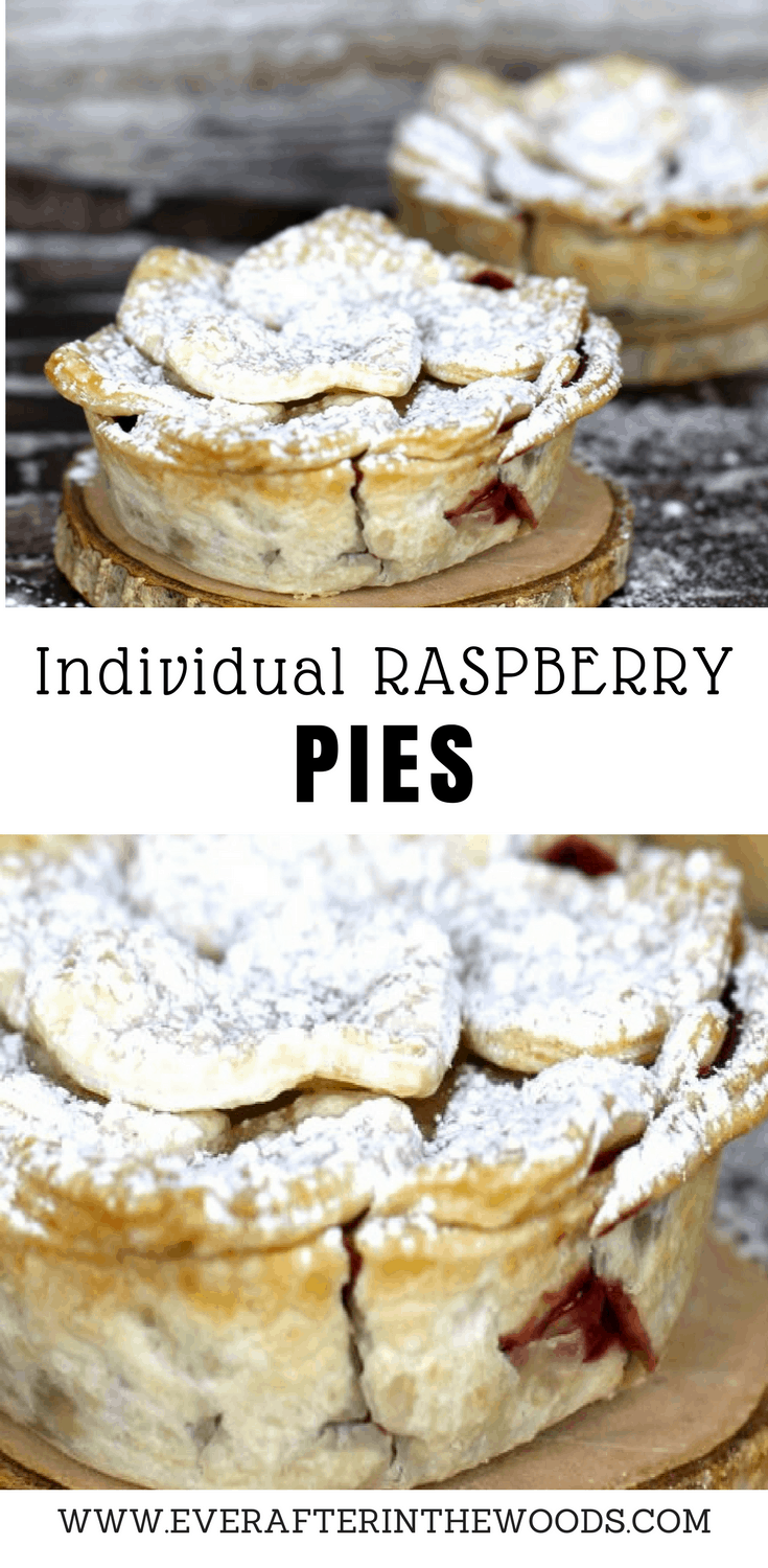 how to make individual pies using pampered chef pan