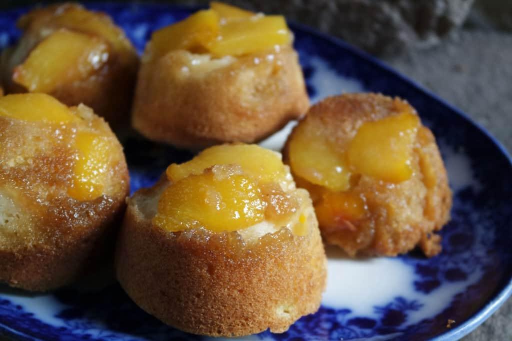 easy cake peach
