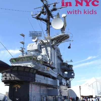 Intrepid Air and Space Museum- Great Day Trip with Kids in NYC
