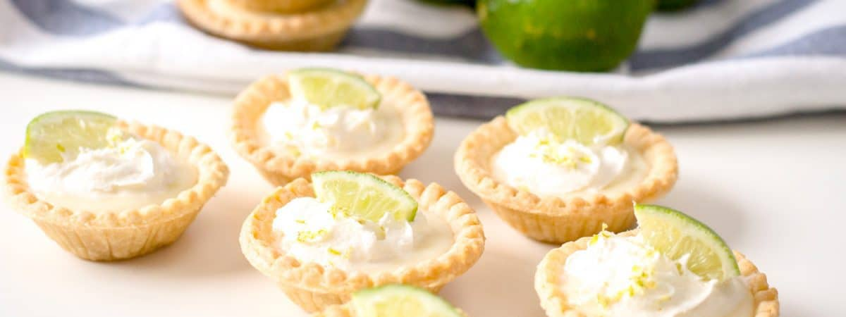 mini key lime pies | tarts