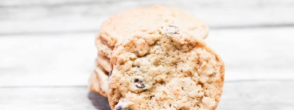 monster cookies with rice krispie cereal