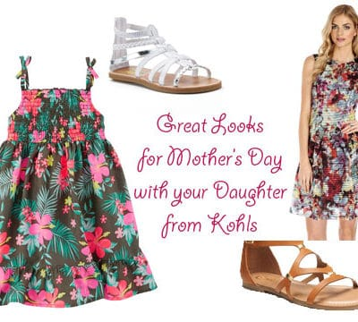 Adorable Mother's Day Looks for Mommy and Daughter from Kohl's