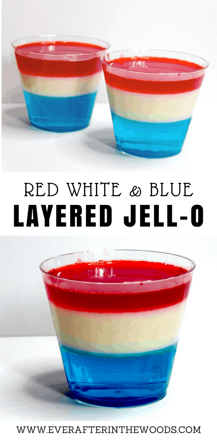 easy layered jello dessert for fourth of july