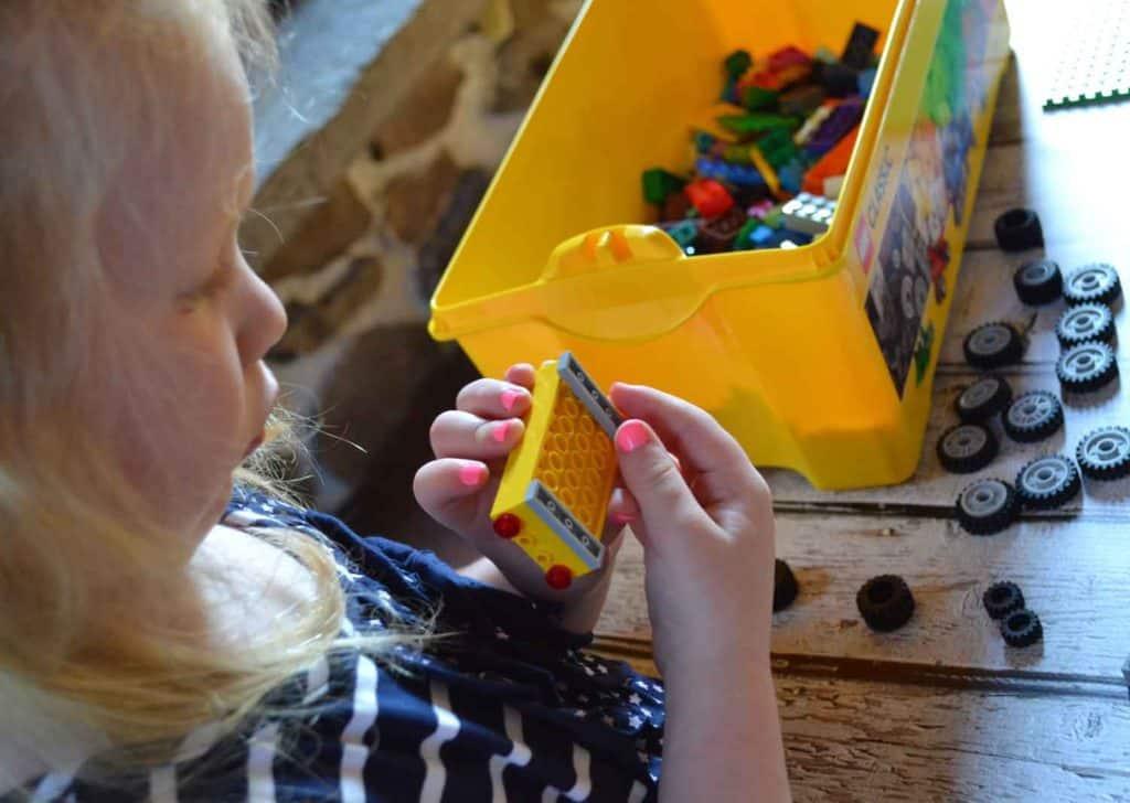 lego building blocks small children fine motor skills
