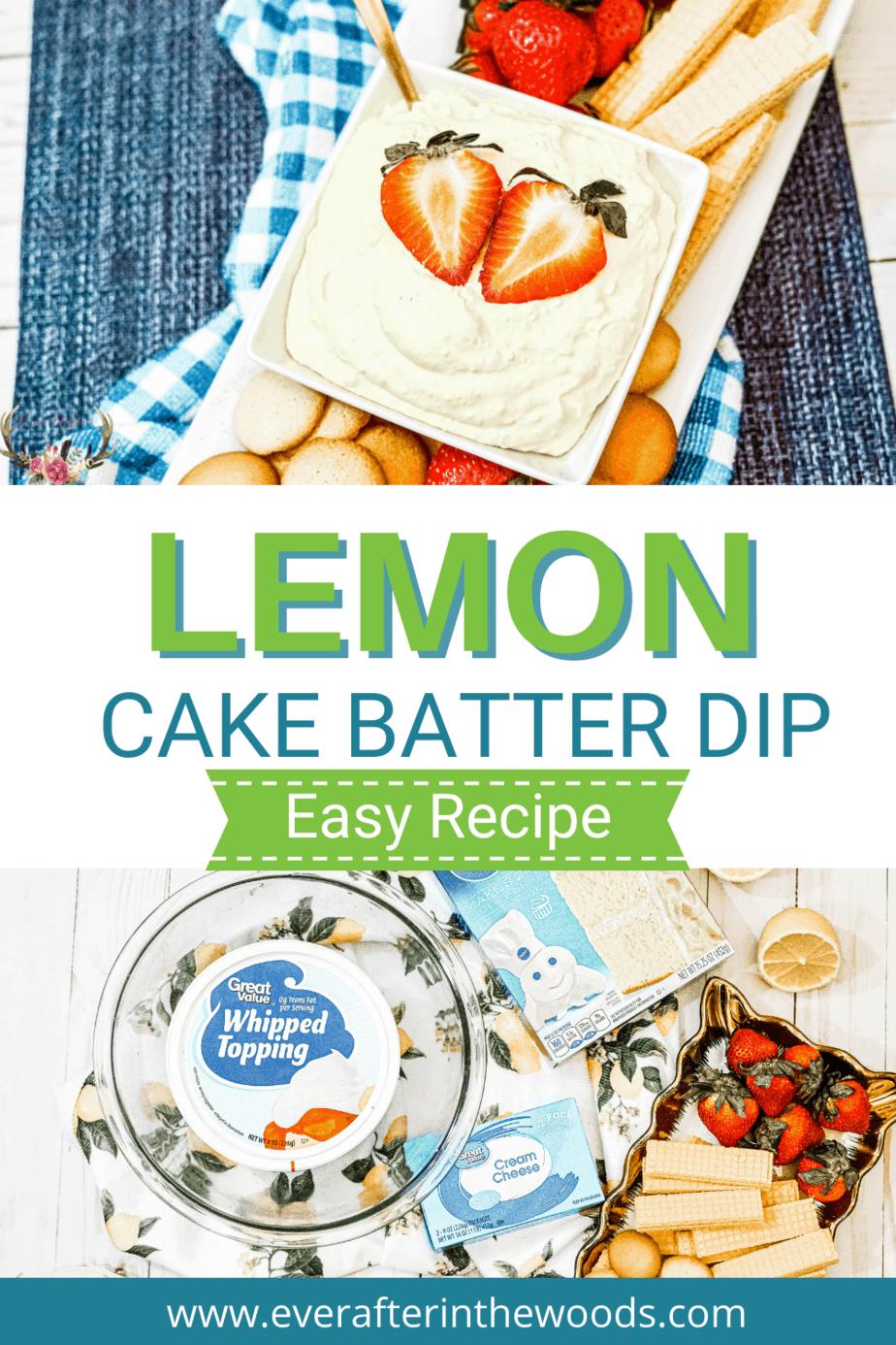 lemon cream dip