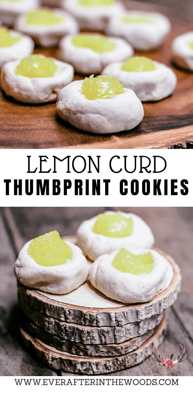 cookies with lemon curd | thumbprint cookies | best lemon curd thumbprint cookies