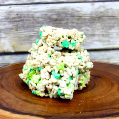 marshmallow treats dessert for st paddys day