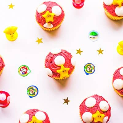Super Mario Bros. Cupcake Ideas for that little boy or girl that is Nintendo obsessed!