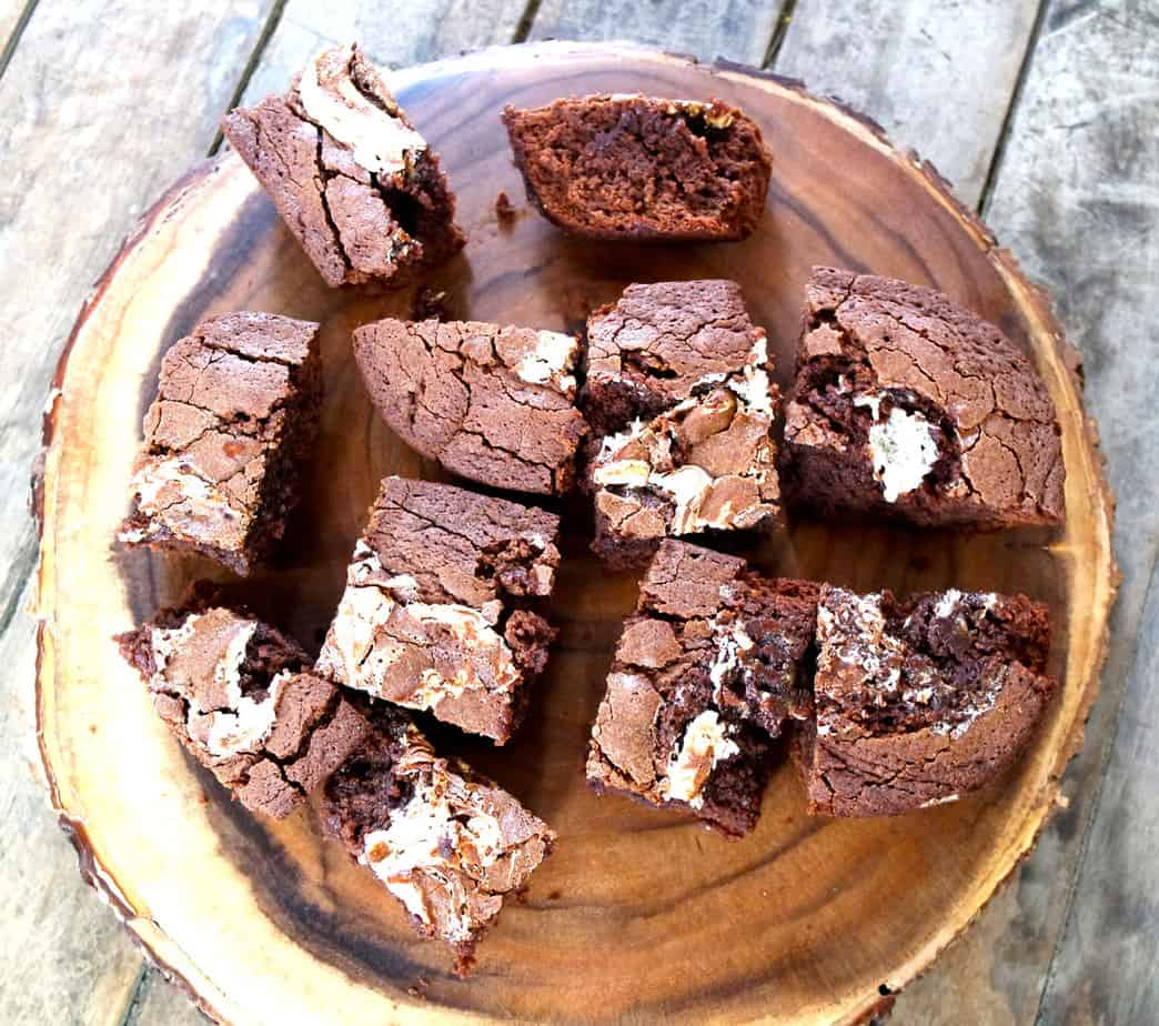 Marshmallow Chocolate Brownies