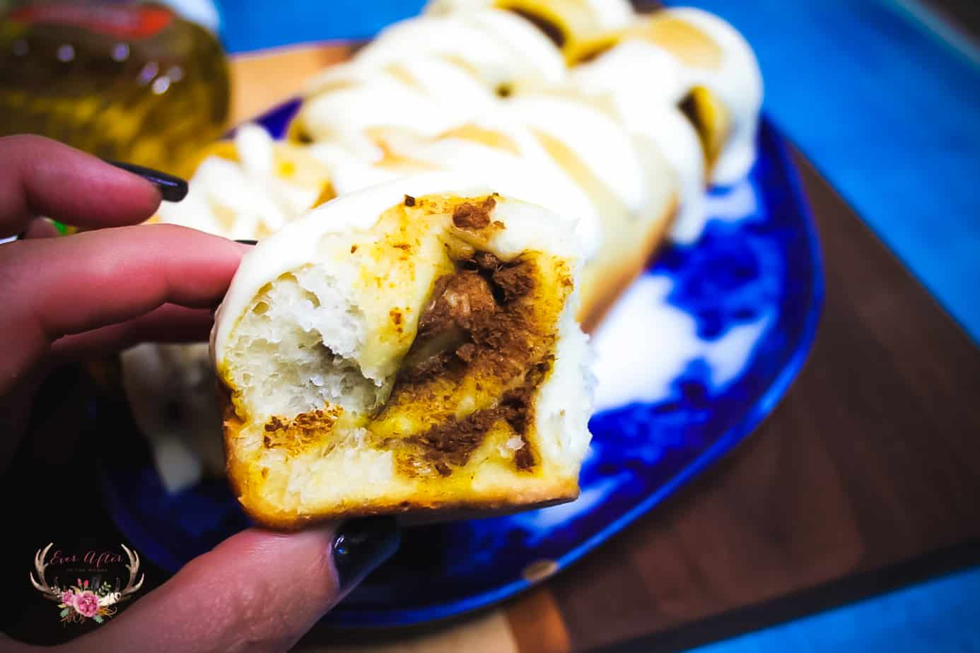 Better for You Pumpkin Sweet Roll Bread