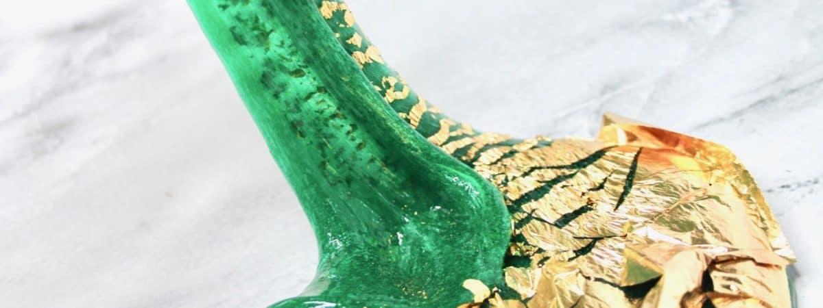 how to make mermaid underwater slime