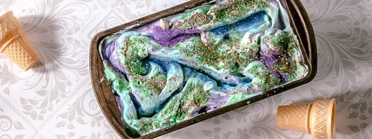 mermaid birthday party dessert
