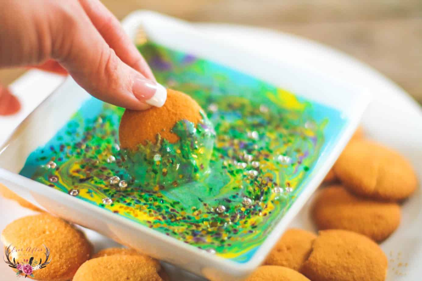 mermaid dessert dip