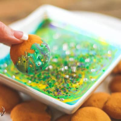 Shiny Mermaid Under the Sea Dessert Dip