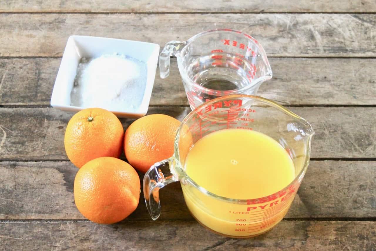 family meals made easy orange sorbet