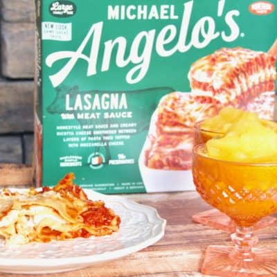 Family Meals Made Easy with Michael Angelo's and Orange Sorbet Recipe