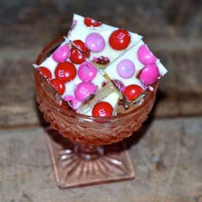 Strawberry & Cream Fudge Recipe for Valentine's Day