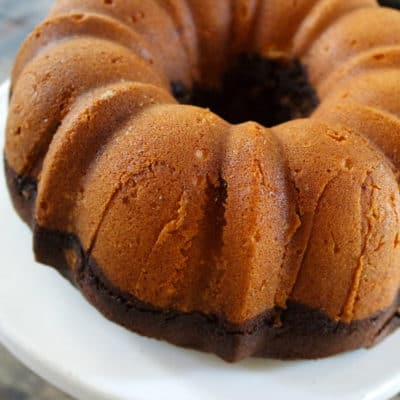 pound cake mocha coffee