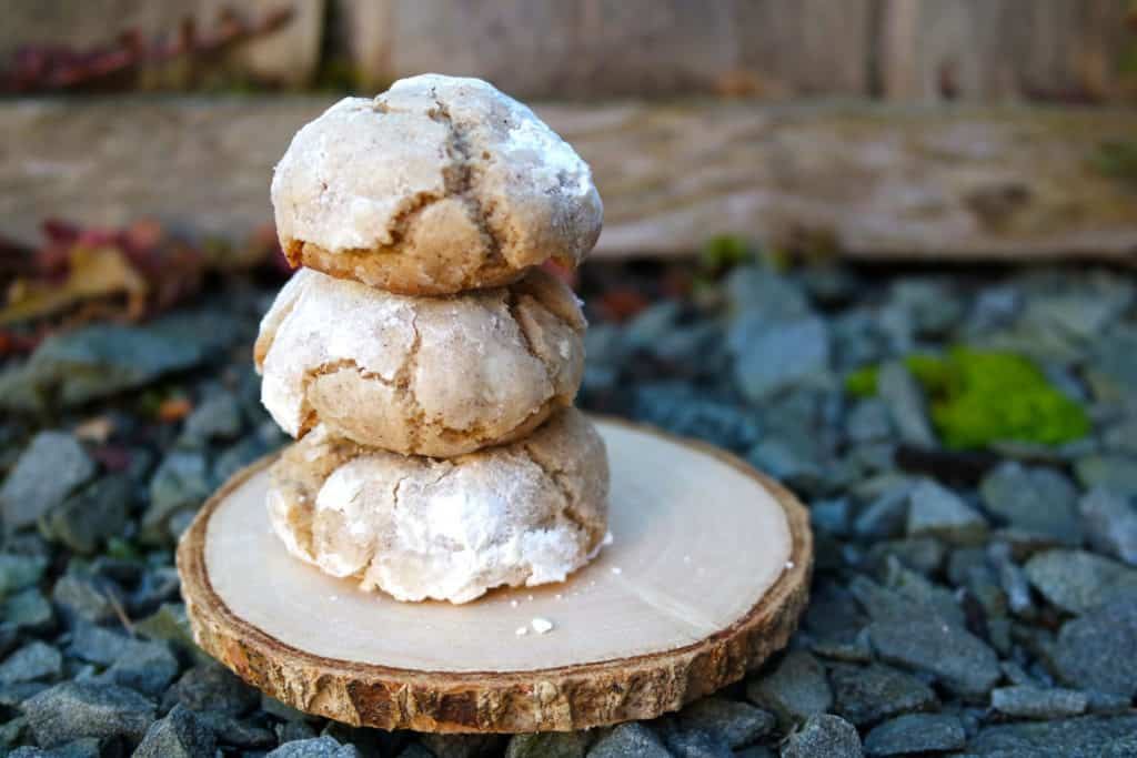brown butter sugar christmas cookie