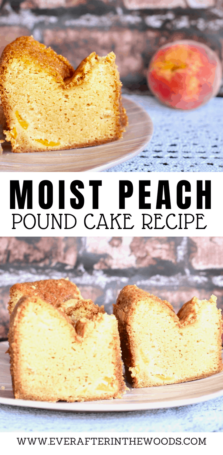 easy moist peach pound cake