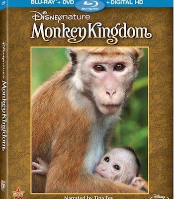 Disneynature Monkey Kingdom on DigitalHD, DMA, and Blu-ray Combo Pack 9/15