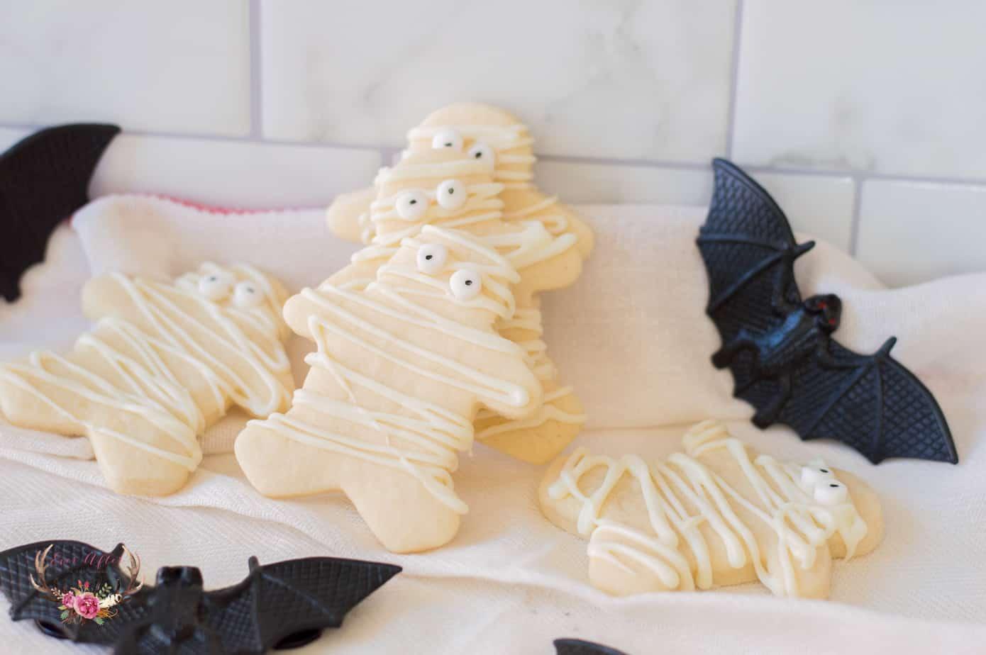 mummy sugar cookies